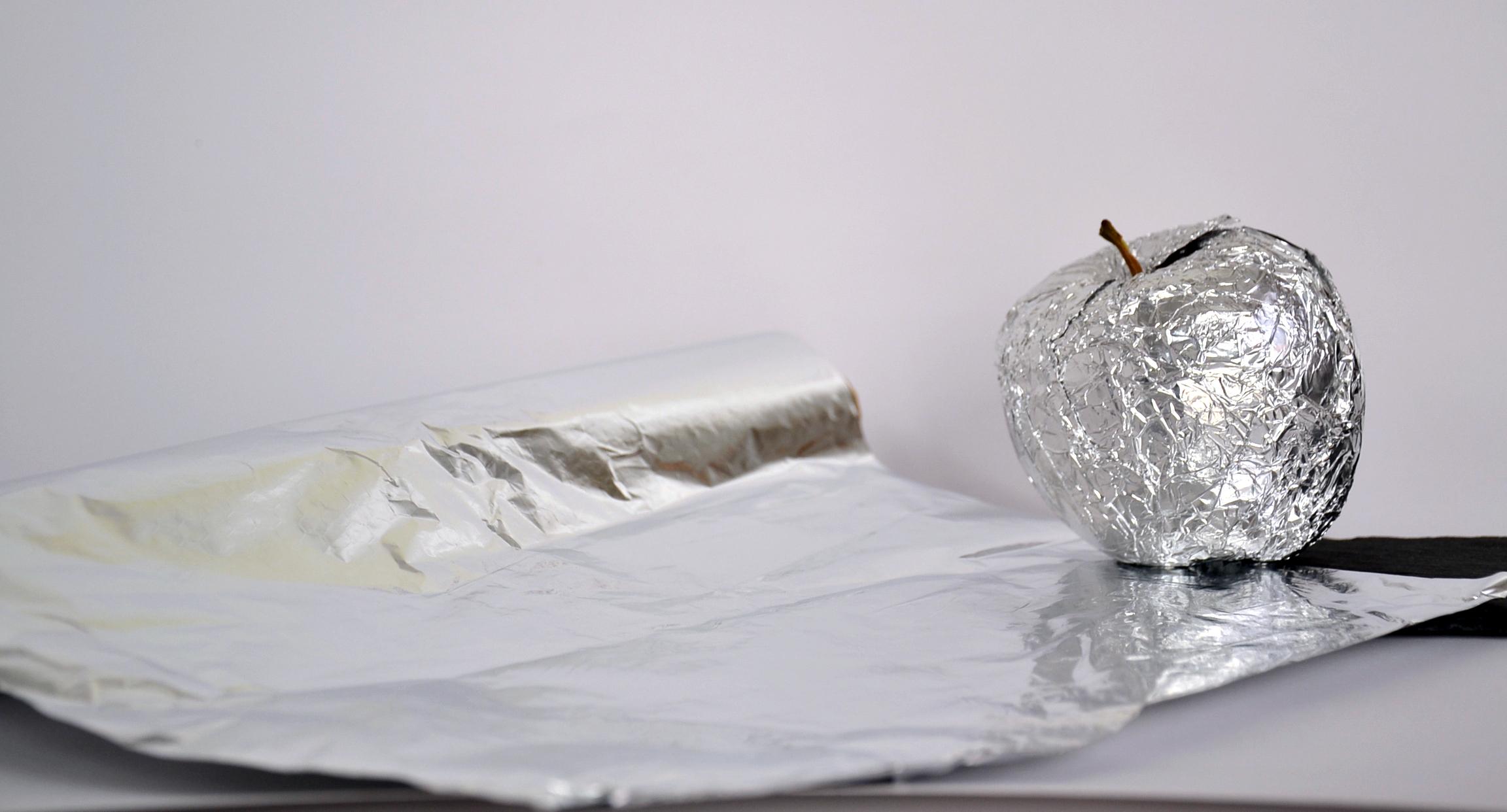 Toxico ocu de aluminio papel
